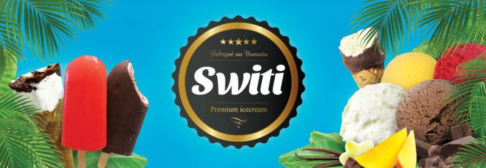 Switi Icecream Branding