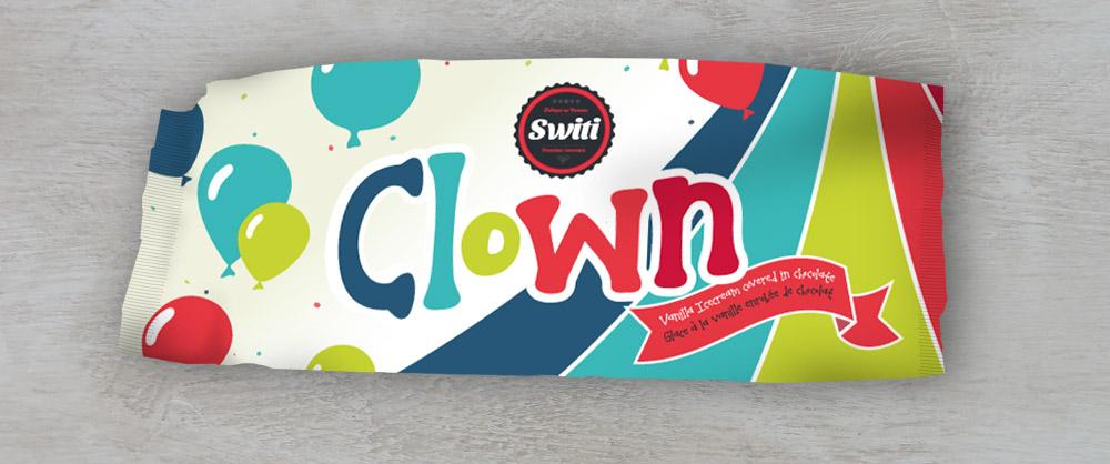 Switi Icecream Branding